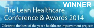 Lean Healthcare Conference and Awards 2014 WINNER